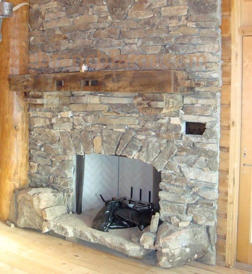 barn wood mantels